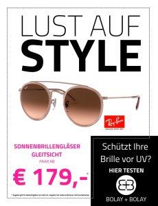 Lust auf Style Einstärken-Sonnengläser Paar ab 49,- €